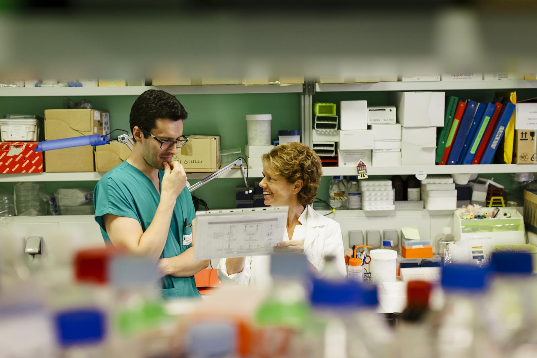 fotografia di laboratorio di ricerca