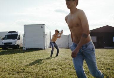 Backstage reportage moda: l'esempio di Gas