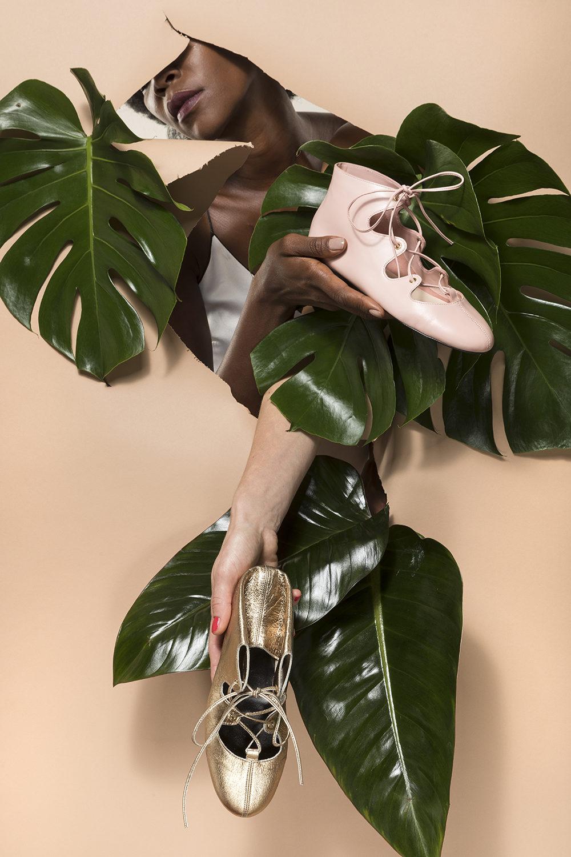 anca stetco shoes fashion campagna pubblicitaria fotografia SS 2018