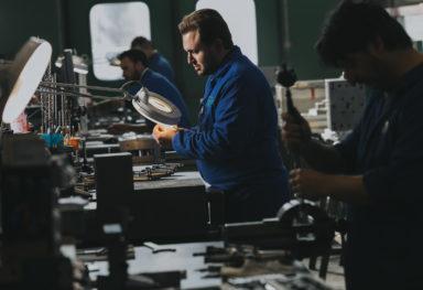 Reportage fotografico industriale Meccanica De Agnoi