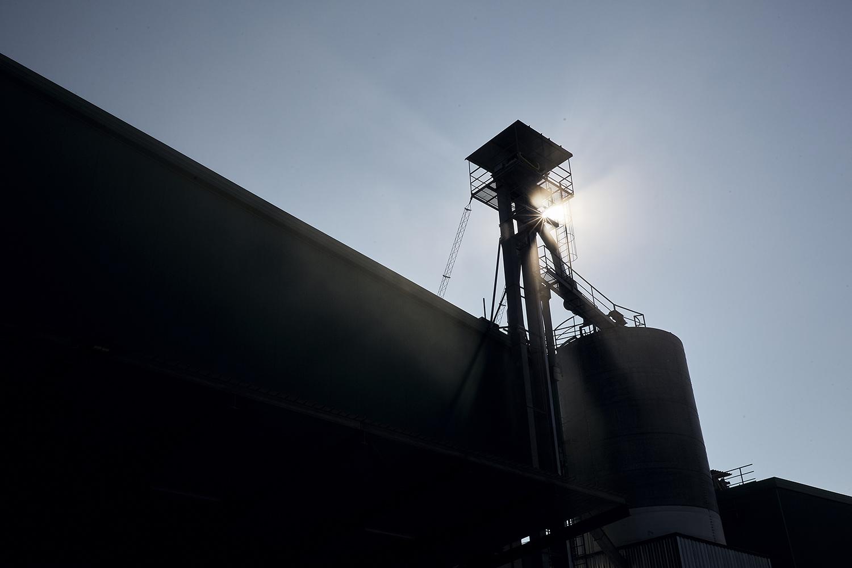 servizio fotografico reportage industriale cereal docks