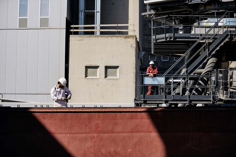 Fotografo Reportage navale aziendale da fotografo industriale comunicazione agenzia marketing porto