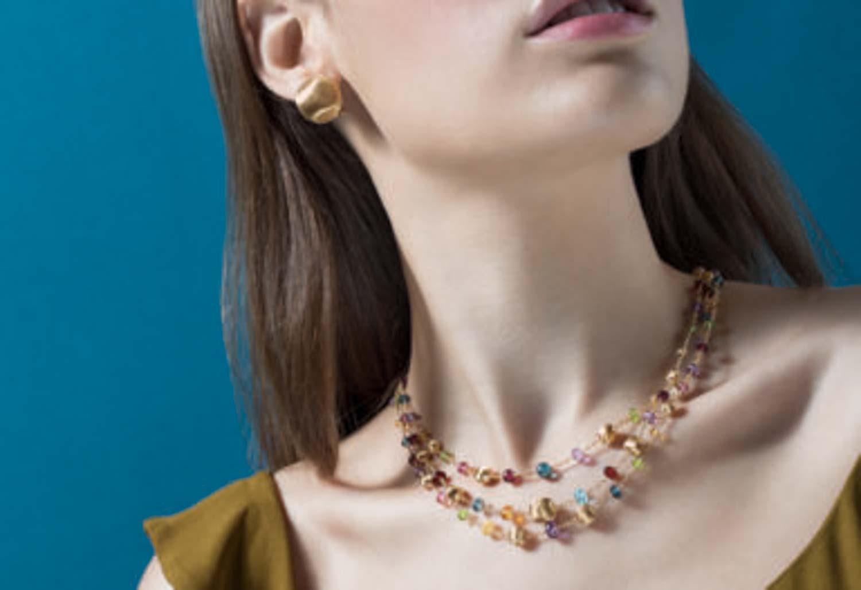 Marco Bicego: servizio fotografico di gioielleria indossato per social