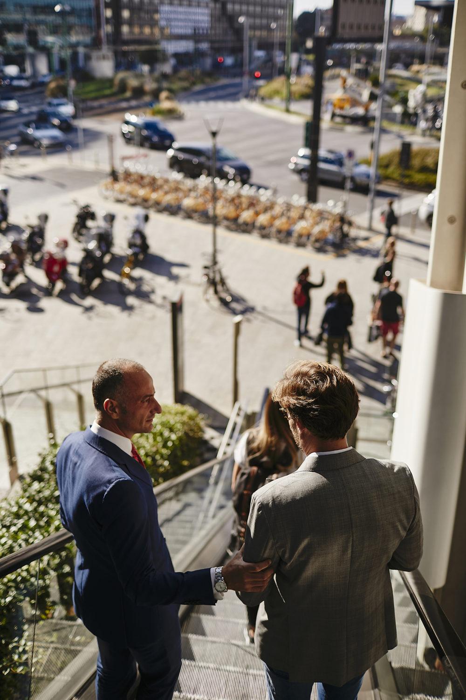 Reportage in ambiente urbano a Milano