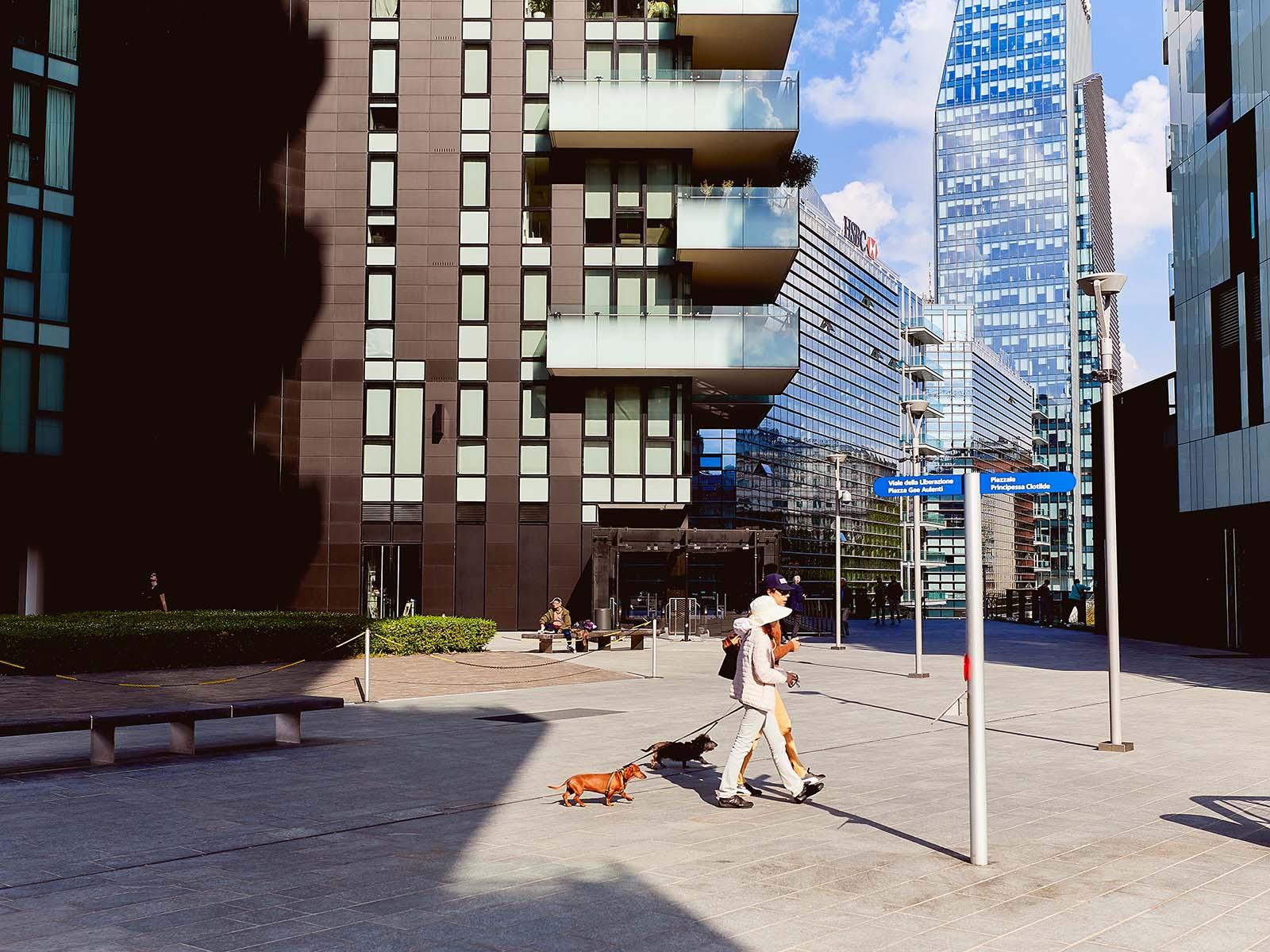 Fotografo di architettura a Milano Bosco Verticale Torri Aria, Solaria, Solea