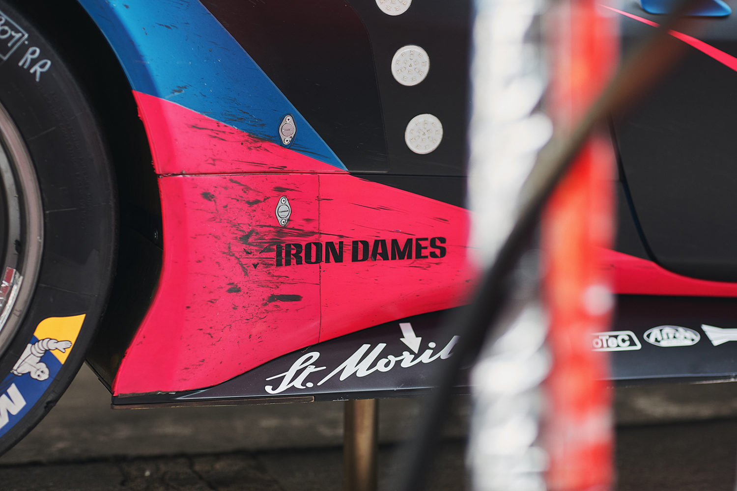 Fotografo reportage corporate motorsport Iron Dames GT Team Le Mans Kessel