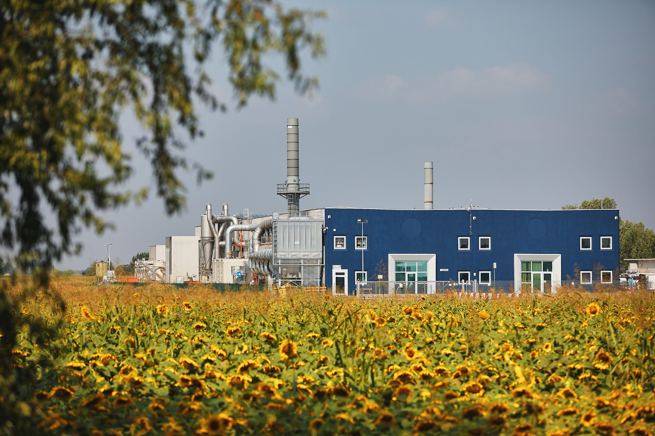 Esterni stabilimento operativo IBLU
