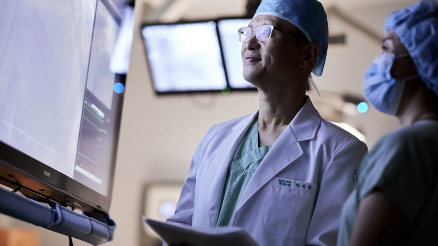 Fotografo ambiente medico sanitario