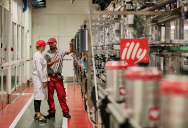 Fotografo commerciale industria alimentare | Illy Caffè